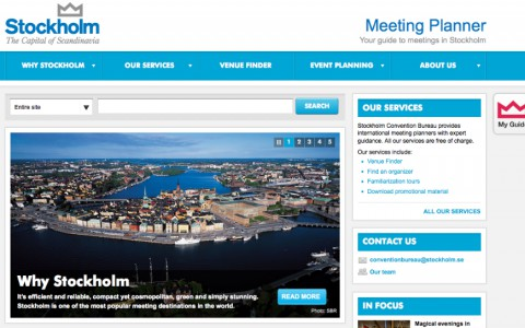 Stockholm Business Region - Meeting planner