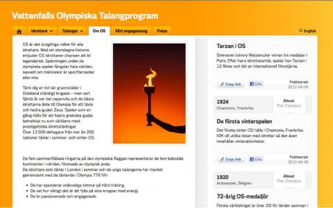 Vattenfalls olympiska talangprogram