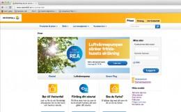 Vattenfall får ny webbplats