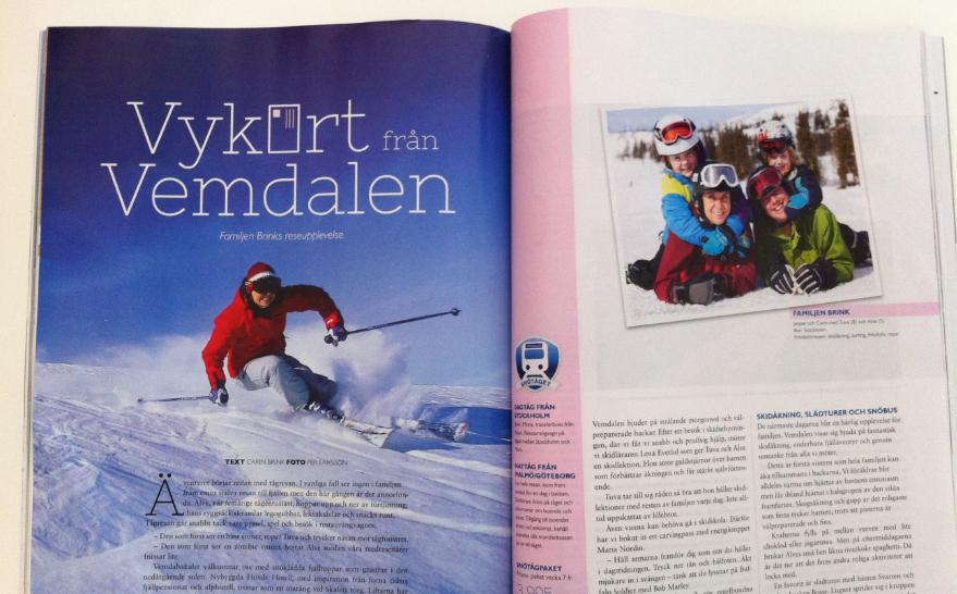 Vemdalen – reportage för SkiStar