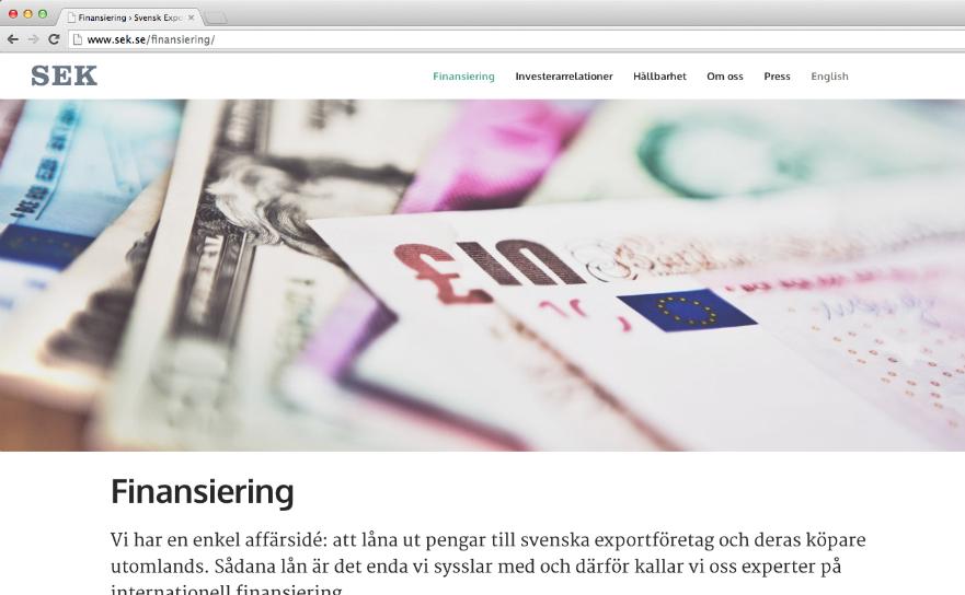 Vad gör Svensk Exportkredit?
