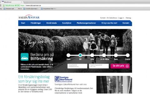 SalusAnsvar - försäkringar på nätet