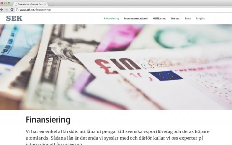 Svensk Exportkredit, SEK