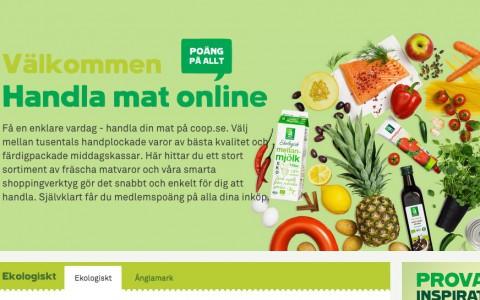 Coop - handla mat på nätet